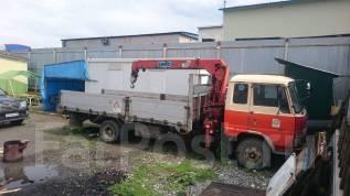 Hino Ranger. Бортовой грузовик с Манипулятором, 7 000куб. см., 5 000кг.