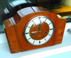 Часы настольные механические с маятником, Китай. Оригинал