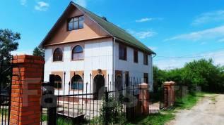 Коттедж на Корсаково-2. переулок Садовый, с. Корсакова-2, р-н с. Корсакова-2, площадь дома 157 кв.м., скважина, электричество 20 кВт, отопление элект...
