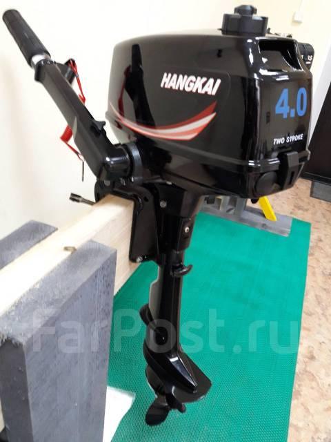 Hangkai. 4,00л.с., 2-тактный, бензиновый, нога S (381 мм)