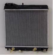 Радиатор охлаждения двигателя. Honda Jazz, GD1, GD5 Honda Fit, GD1, GD2, GD3, GD4 Двигатели: L12A1, L13A1, L13A2, L13A5, L15A1