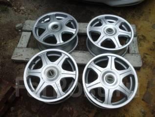 Bridgestone. 6.0x15, 5x100.00, 5x114.30, ET48, ЦО 72,0мм.