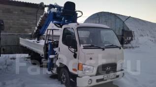 Hyundai HD78. Продается с КМУ Hotomi LS3010 и ямобуром в Иркутске, 3 907 куб. см., 4 500 кг.
