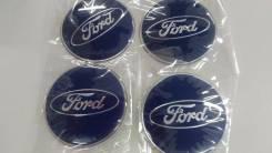 Наклейка на колесные диски Ford 4 шт D 6.5 см