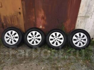 Продам комплект летних колёс на штамповках Toyota Noah. x15 5x114.30