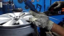 Сварка аргоном автомобильных дисков, блоков и деталей