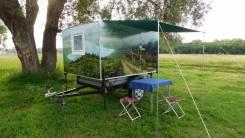 Крепыш. Туристический прицеп, кемпер, караван. дом на колесах, 564 кг.