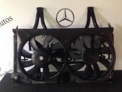 Вентилятор охлаждения радиатора. Mercedes-Benz E-Class, S210, W210 Двигатели: M112E24, M112E28, M112E32, M113E43, M113E55