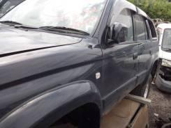 Крепление боковой двери. Toyota Hilux Surf, RZN185W Двигатель 3RZFE
