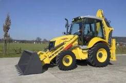 New Holland B90B. Экскаватор-погрузчик NEW Holland B90B, 4 500 куб. см., 3 550 кг.