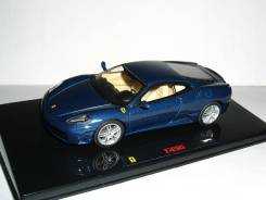 Ferrari F430 2004г Elite Hot Wheels 1/43 - 1:43 Феррари-430 Dark BLUE