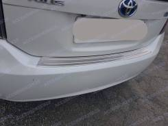 Накладка на бампер. Toyota Prius, ZVW30L, ZVW35, ZVW30