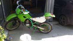 Kawasaki KDX 250. 249 куб. см., исправен, птс, с пробегом