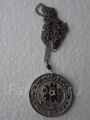 Японская памятная медаль EXPO 70. Фудзияма. Торги с 1 рубля!