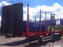 Schmitz S.CF. Полуприцеп-лесовоз Schmitz Gotha SCF 24 выпуск 2011, 33 000 кг.