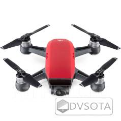 Новый, Маленький, Доступный! Квадрокоптер DJI Spark Fly More Combo Red