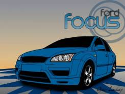 Порог кузовной. Ford Focus, DBW, DFW, DNW