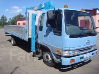 Hino Ranger. Продается грузовик с манипулятором, 8 000 куб. см., 5 000 кг.