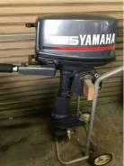 Yamaha. 5,00л.с., 2-тактный, бензиновый, нога S (381 мм), Год: 1996 год