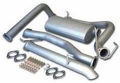 Выхлопная система для Toyota LC80 1HD-T/1HD-FT, Sehdj80, Safari Power. Toyota Land Cruiser Двигатель 1HD