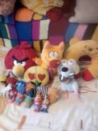 Мягкие и резиновые игрушки