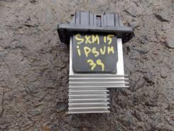 Сопротивление мотора отопителя. Toyota Ipsum, SXM15G, SXM15