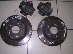 Тормозная система. Mercedes-Benz E-Class, W124 Двигатели: M119, M119E42, M119E50, M119E60, M119E63
