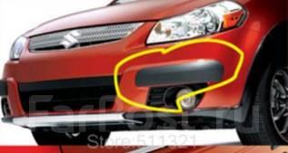 Накладка на бампер. Suzuki SX4