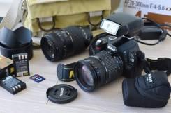 Nikon D60. 10 - 14.9 Мп, зум: 10х