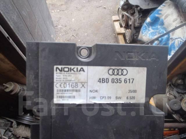 Блок управления телефоном. Audi A6, C5
