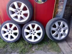 Продам или поменяю на 15, 16 резину комплект колес ( авенсис). 7.5x17 5x100.00 ET7 ЦО 170,0мм.