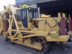 ЧТЗ Т10М. Станок буровой тракторный БТС-150
