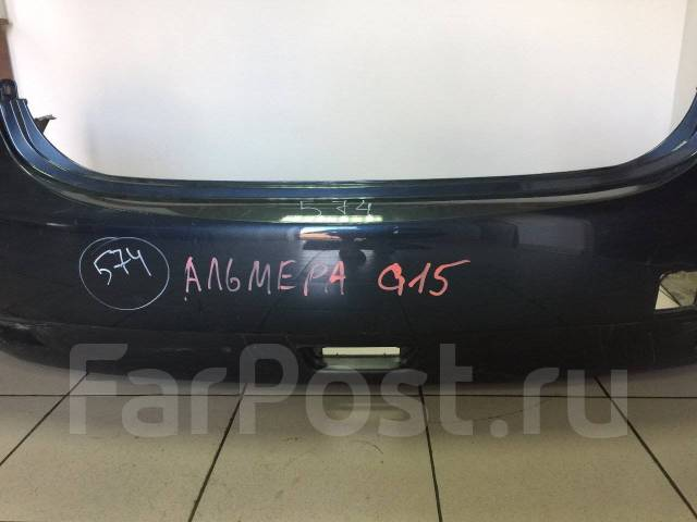 Бампер. Nissan Almera, G11, G16 Двигатель K4M