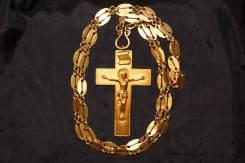 Крест наградной протоиерейский кабинетного типа. Россия, XIX век. Оригинал