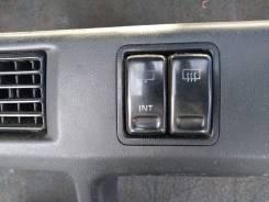 Кнопка включения обогрева. Toyota Sprinter Carib, AE95, AE95G Двигатели: 4AFHE, 4AFE
