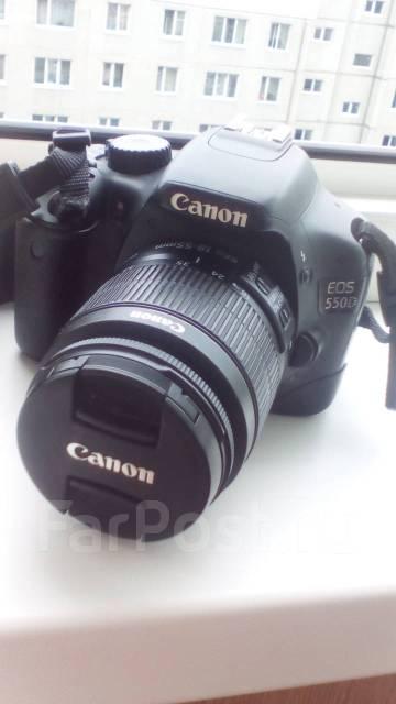 Canon EOS 550D. 20 и более Мп, зум: 12х