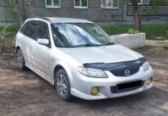 Порог пластиковый. Mazda Familia
