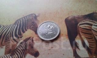 Родезия. Юбилейные редкие 6 пенсов-5 центов 1964 г. Торг! Пламенная ли