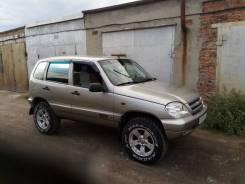 Комплект увеличения клиренса. Chevrolet Niva