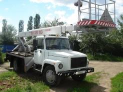 ГАЗ 3307. Автовышка, 3 000 куб. см., 18 м.