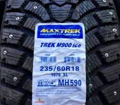 Maxtrek Trek M900. Зимние, шипованные, 2016 год, без износа, 2 шт