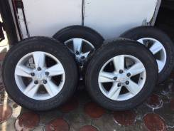 Комплект оригинальных колёс 285/60/18 (5/150). 9.0x18 5x150.00. Под заказ
