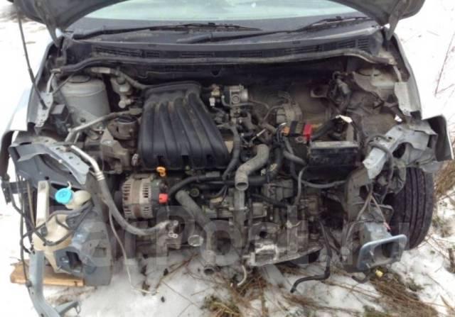 Двигатель в сборе. Nissan Tiida Nissan Note Двигатель HR15DE
