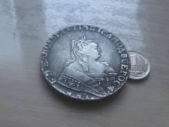 1 рубль 1734 г. копия