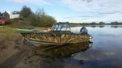 Windboat. Год: 2012 год, длина 4,85м., двигатель подвесной, 50,00л.с., бензин