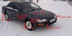 Бампер задний Toyota Corolla  AE100 91-95