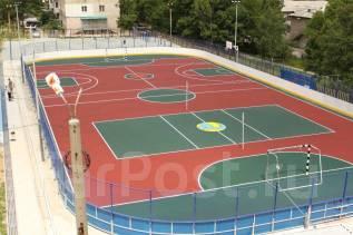 Покрытие из резиновой крошки для детских и спортивных площадок