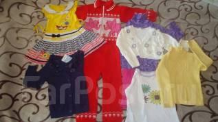 Детские вещи пакетом для девочки. Рост: 98-104 см