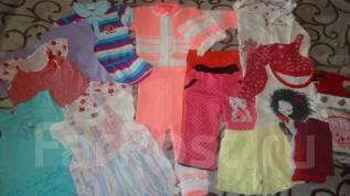Детские вещи пакетом для девочки. Рост: 86-98 см