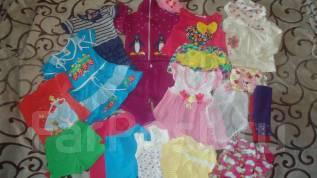Вещи пакетом для девочки. Рост: 86-98 см